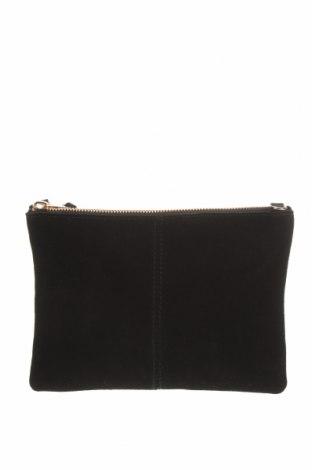 Γυναικεία τσάντα H&M, Χρώμα Μαύρο, Δερματίνη, φυσικό σουέτ, Τιμή 18,19€