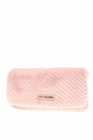 Geantă de femei Love Moschino, Culoare Roz, Piele ecologică, textil, Preț 557,57 Lei