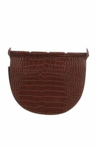 Γυναικεία τσάντα Reserved, Χρώμα Καφέ, Γνήσιο δέρμα, Τιμή 27,71€