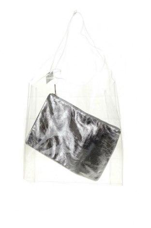 Дамска чанта Reserved, Цвят Бял, Полиуретан, Цена 20,65лв.