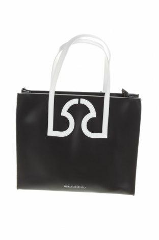 Geantă de femei Rinascimento, Culoare Negru, Piele ecologică, Preț 416,94 Lei