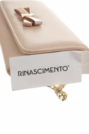 Geantă de femei Rinascimento, Culoare Bej, Piele ecologică, Preț 342,93 Lei