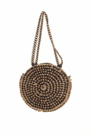 Geantă de femei Zara, Culoare Bej, Textil, alte țesuturi, Preț 119,74 Lei