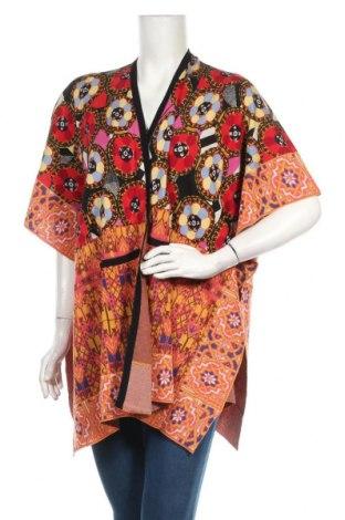 Дамска жилетка Desigual, Размер M, Цвят Многоцветен, 49% памук, 31% модал, 20% коприна, Цена 67,60лв.