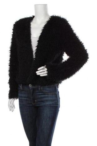 Cardigan de damă Gina Tricot, Mărime S, Culoare Negru, Poliester, Preț 21,55 Lei
