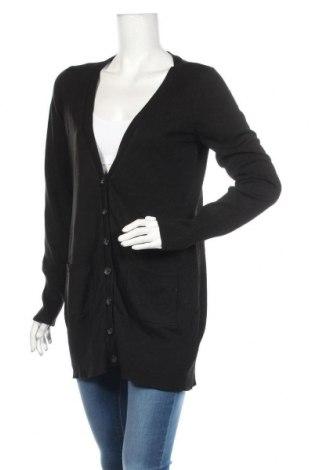 Γυναικεία ζακέτα H&M, Μέγεθος M, Χρώμα Μαύρο, Ακρυλικό, Τιμή 10,46€