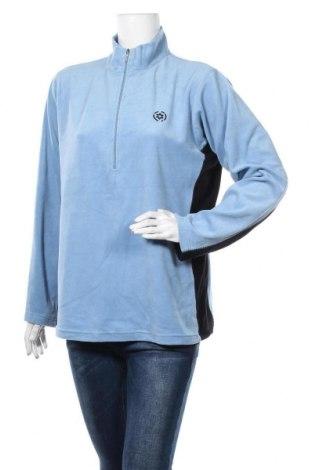 Γυναικεία μπλούζα fleece Crane, Μέγεθος XL, Χρώμα Μπλέ, 94% πολυεστέρας, 6% ελαστάνη, Τιμή 5,00€