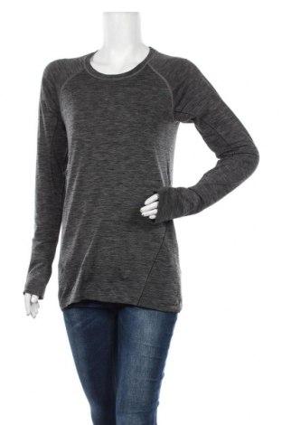 Γυναικεία αθλητική μπλούζα H&M Sport, Μέγεθος L, Χρώμα Γκρί, 59% πολυαμίδη, 41% πολυεστέρας, Τιμή 4,68€