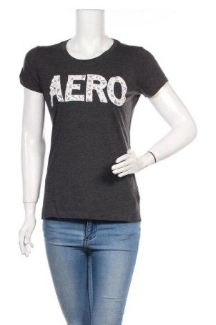 Дамска тениска Aeropostale, Размер L, Цвят Сив, 60% памук, 40% полиестер, Цена 14,95лв.