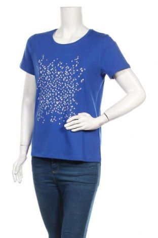 Дамска тениска Culture, Размер M, Цвят Син, 95% памук, 5% еластан, Цена 25,35лв.