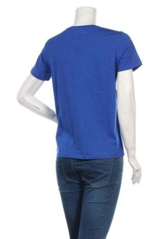 Дамска тениска Culture, Размер M, Цвят Син, 95% памук, 5% еластан, Цена 29,25лв.