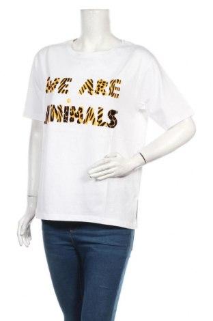 Dámské tričko Desigual, Velikost M, Barva Bílá, Bavlna, Cena  513,00Kč