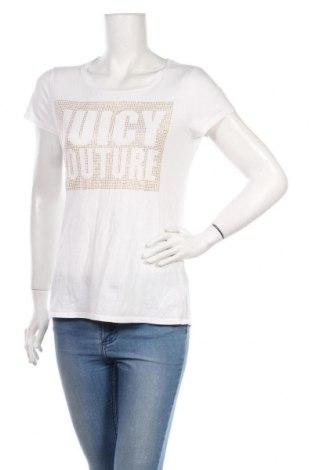 Dámské tričko Juicy Couture, Velikost L, Barva Bílá, Bavlna, Cena  223,00Kč