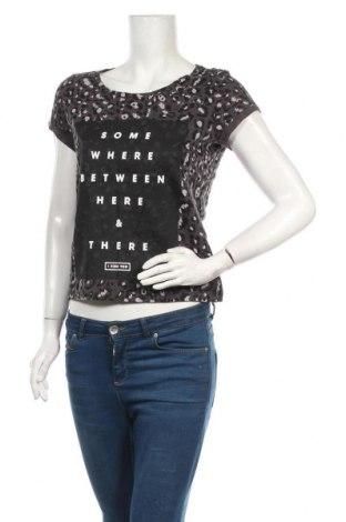 Tricou de femei Q/S by S.Oliver, Mărime XS, Culoare Gri, Bumbac, Preț 76,97 Lei