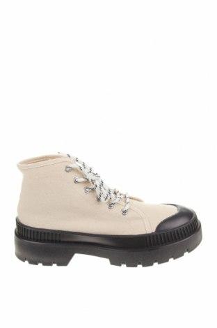 Dámské boty  Pull&Bear, Velikost 39, Barva Béžová, Textile , Cena  450,00Kč