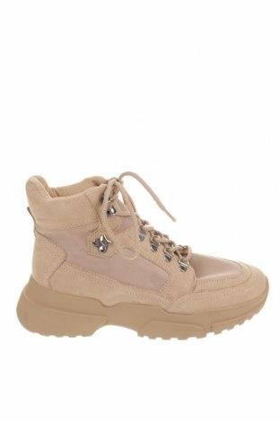 Dámské boty  Pull&Bear, Velikost 39, Barva Béžová, Textile , Cena  395,00Kč