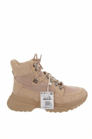Dámské boty  Pull&Bear, Velikost 41, Barva Béžová, Textile , Cena  480,00Kč