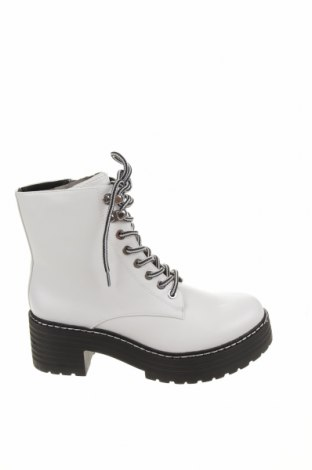 Dámské boty  Pull&Bear, Velikost 37, Barva Bílá, Eko kůže, Cena  740,00Kč