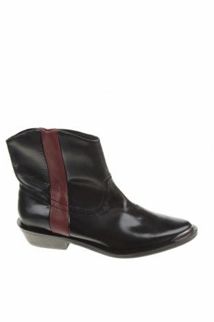 Dámské boty  Stradivarius, Velikost 36, Barva Černá, Pravá kůže, Cena  380,00Kč