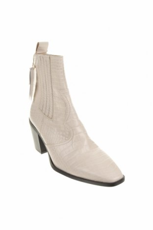 Dámské boty  Stradivarius, Velikost 39, Barva Krémová, Eko kůže, Cena  631,00Kč