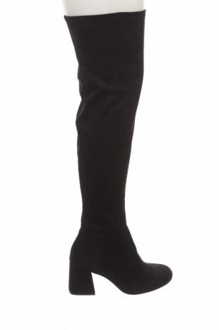 Dámské boty  Pull&Bear, Velikost 40, Barva Černá, Textile , Cena  859,00Kč