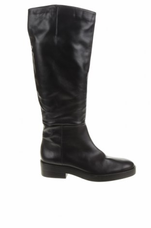 Dámské boty  Zara, Velikost 41, Barva Černá, Pravá kůže, Cena  1187,00Kč
