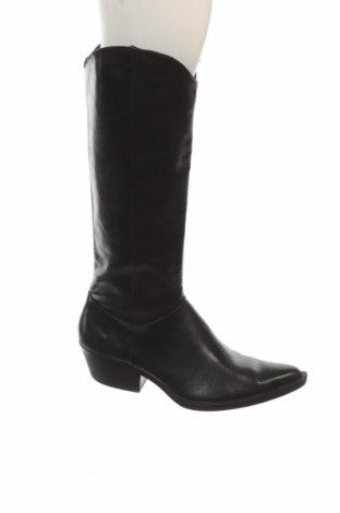 Dámské boty  Zara, Velikost 38, Barva Černá, Eko kůže, Cena  894,00Kč