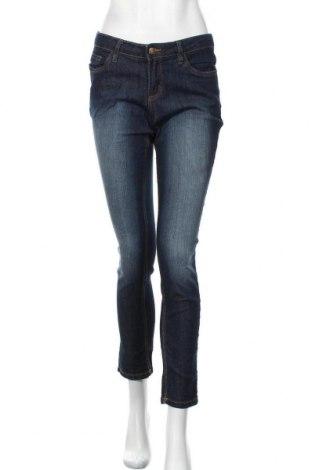 Дамски дънки John Baner, Размер M, Цвят Син, 82% памук, 17% полиестер, 1% еластан, Цена 23,21лв.