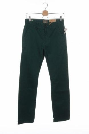 Pantaloni de bărbați Timberland, Mărime S, Culoare Verde, Bumbac, Preț 250,16 Lei