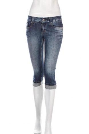 Дамски дънки Tom Tailor, Размер S, Цвят Син, 98% памук, 2% еластан, Цена 14,44лв.
