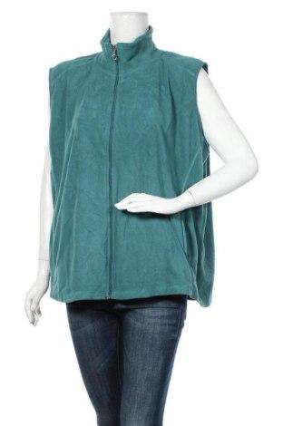 Дамски елек Laura Torelli, Размер XXL, Цвят Зелен, Полиестер, Цена 15,12лв.