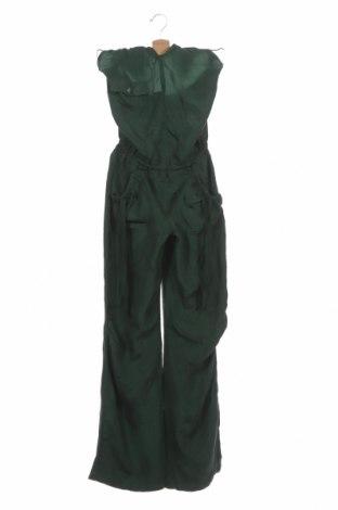 Salopetă de femei Miss Sixty, Mărime XS, Culoare Verde, Mătase, Preț 221,05 Lei