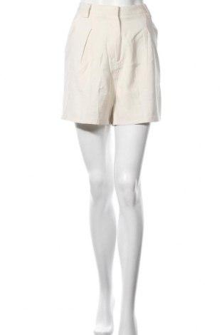 Pantaloni scurți de femei Cotton On, Mărime M, Culoare Ecru, 97% viscoză, 7% poliester, Preț 32,07 Lei