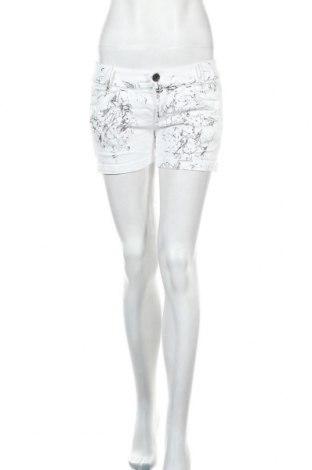 Γυναικείο κοντό παντελόνι Miss Sixty, Μέγεθος M, Χρώμα Λευκό, 98% βαμβάκι, 2% ελαστάνη, Τιμή 12,99€