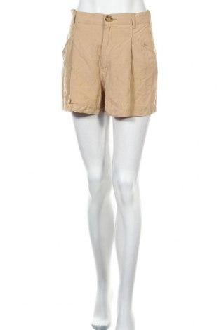 Γυναικείο κοντό παντελόνι Zara, Μέγεθος S, Χρώμα  Μπέζ, 100% lyocell, Τιμή 12,06€