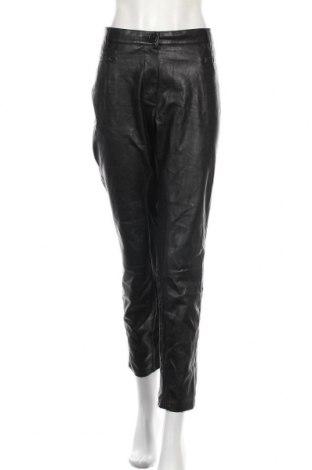 Дамски кожен панталон Atelier GARDEUR, Размер XL, Цвят Черен, Еко кожа, Цена 48,30лв.
