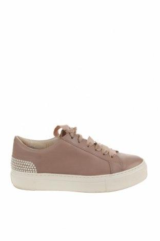 Γυναικεία παπούτσια Attilio Giusti Leombruni, Μέγεθος 38, Χρώμα  Μπέζ, Γνήσιο δέρμα, Τιμή 54,74€