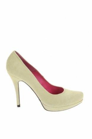 Дамски обувки Buffalo, Размер 39, Цвят Жълт, Естествен велур, Цена 33,82лв.