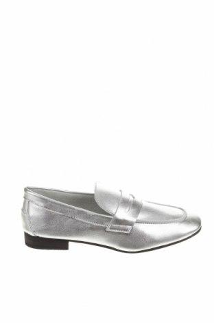 Дамски обувки Buffalo, Размер 36, Цвят Сребрист, Естествена кожа, Цена 41,65лв.