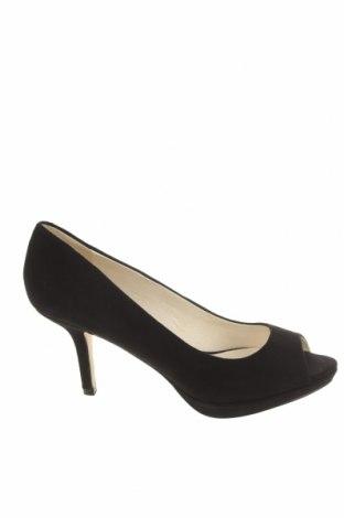 Дамски обувки Buffalo, Размер 38, Цвят Черен, Естествен велур, Цена 30,72лв.