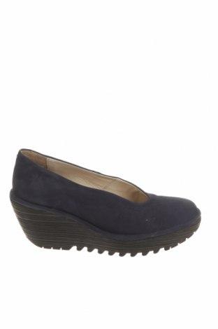 Дамски обувки Fly London, Размер 35, Цвят Черен, Естествена кожа, Цена 50,70лв.