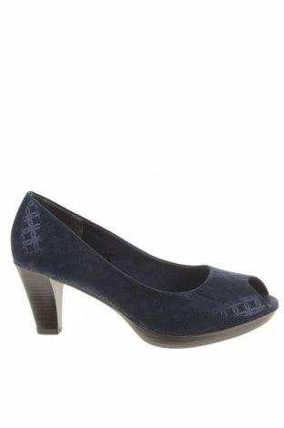 Дамски обувки Marco Tozzi, Размер 41, Цвят Син, Текстил, Цена 66,75лв.