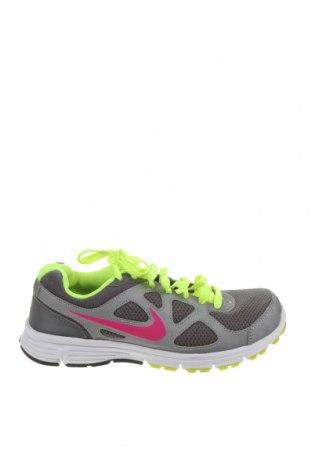Dámské boty  Nike, Velikost 38, Barva Šedá, Pravá kůže, Eko kůže, textile , Cena  861,00Kč