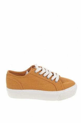 Dámské boty  Pull&Bear, Velikost 38, Barva Oranžová, Textile , Cena  348,00Kč