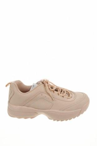 Dámské boty  Pull&Bear, Velikost 38, Barva Béžová, Eko kůže, Cena  641,00Kč