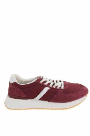 Dámské boty  Pull&Bear, Velikost 37, Barva Červená, Textile , Eko kůže, Cena  641,00Kč