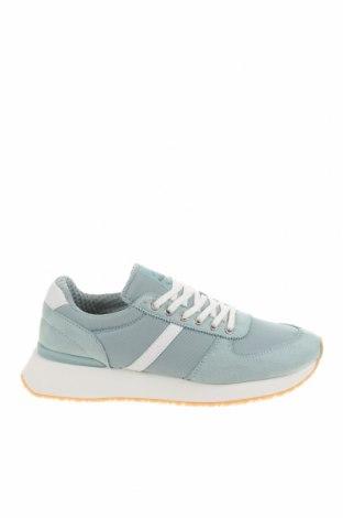 Dámské boty  Pull&Bear, Velikost 39, Barva Modrá, Textile , Eko kůže, Cena  566,00Kč
