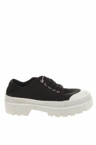 Dámské boty  Pull&Bear, Velikost 38, Barva Černá, Textile , Cena  641,00Kč