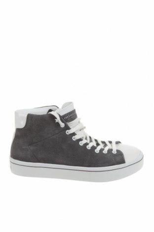 Дамски обувки Skechers, Размер 39, Цвят Сив, Естествен велур, естествена кожа, Цена 81,90лв.
