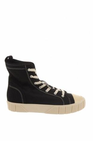 Дамски обувки Zara, Размер 41, Цвят Черен, Текстил, Цена 23,56лв.